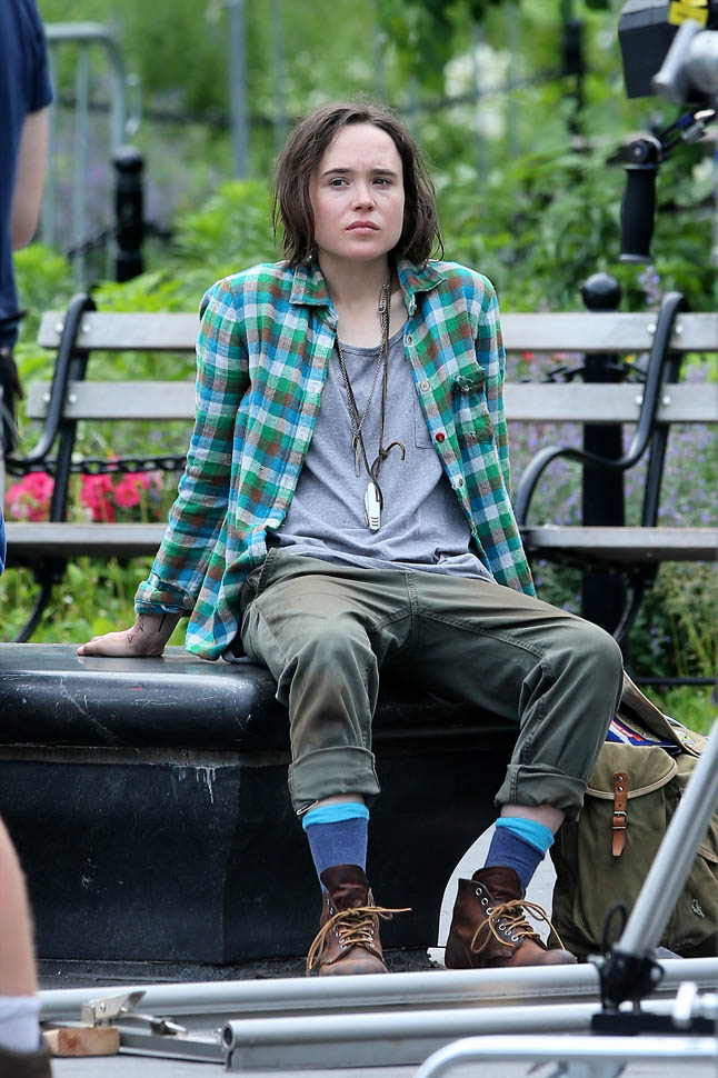 Ellen Page Speaks To Entertainment Weekly About New Film