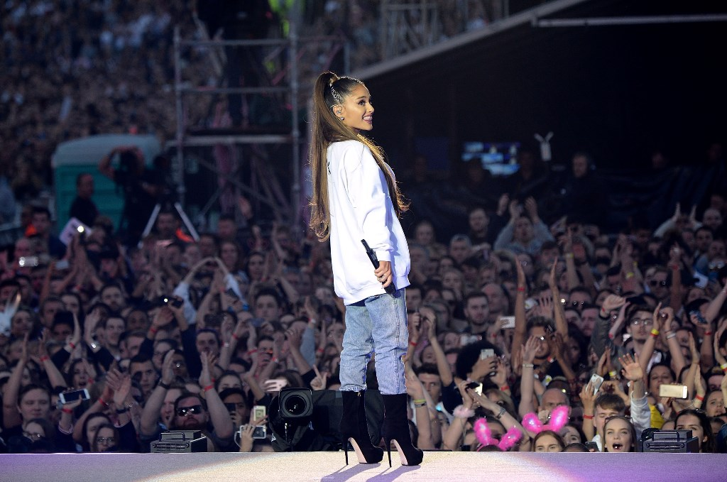 Ariana Grande Shows Her Work At One Love Manchester