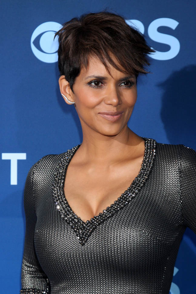 Halle Berry And Olivier Martinez At Extant PremiereLainey