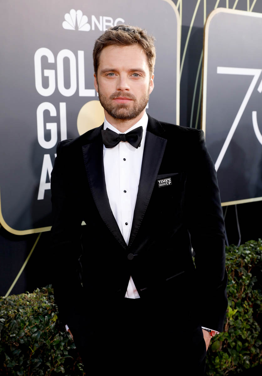 Margot Robbie And Sebastian Stan At The 2018 Golden Globes