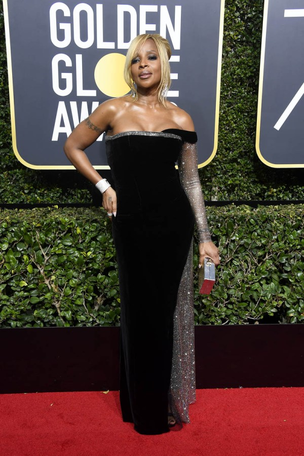 Mary J. Blige noticeably absent from 2018 Golden Globes