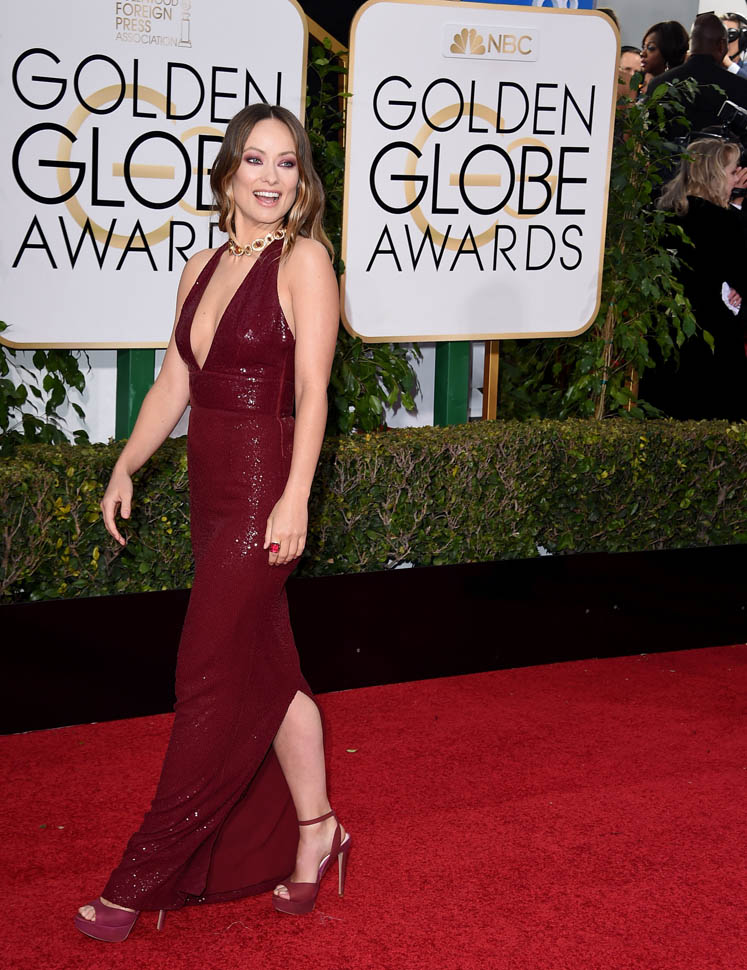 Olivia Wilde At The 2016 Golden GlobesLainey Gossip