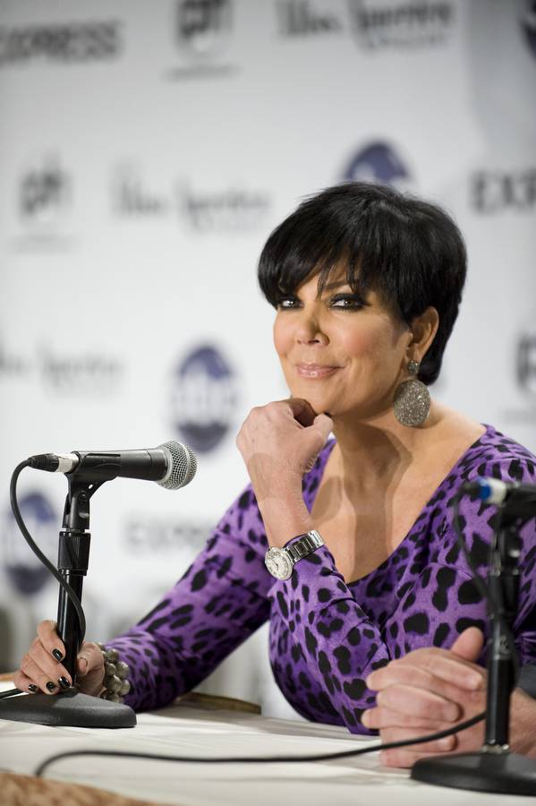 Kris Jenner at the 2012 Miss America Pageant judges Q&A at Planet Hollywood on Jan. 11, 2012.