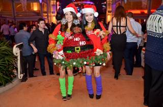 The 2014 Ugly Holiday Sweater Contest at Surrender on Wednesday, Dec. 10, 2014, in Encore.