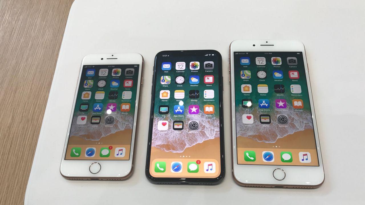 prise en main des iphone x et iphone 8 plus
