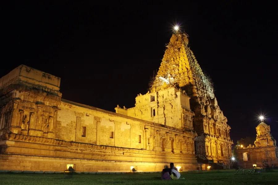 Big Temple @ Tanjore, India