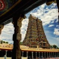 Grandiose Gopura of Meenashi Amman Temple, Madurai