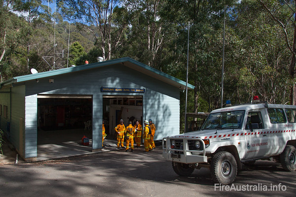 NSWRFS Scotland Island Fire StationPhoto August 2013
