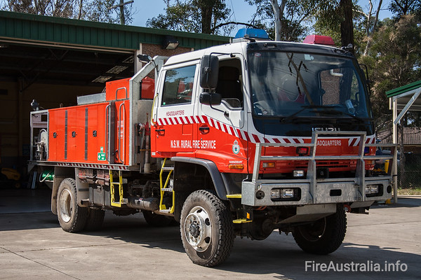 NSWRFS Hawkesbury HQ Cat 1 Tanker.Juipers Engineering Feb/06 Build