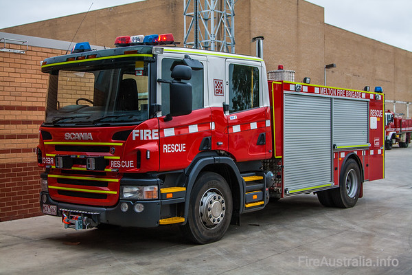 CFA Melton Rescue. December 2008
