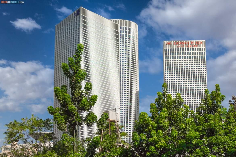 Башни Азриели в Тель Авиве | Azrieli Towers in Tel Aviv | מגדלי אזריאלי בתל אביב