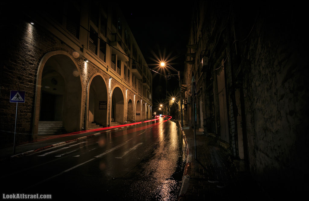 Яффо ночью | LookAtIsrael.com - Фото путешествия по Израилю