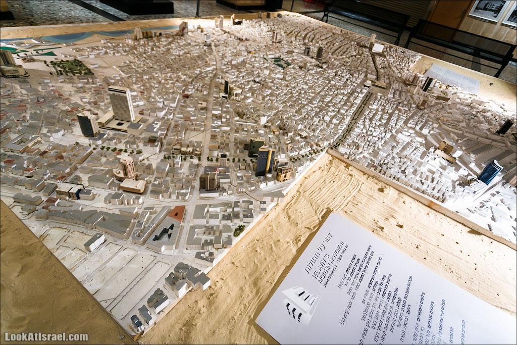 История Тель-Авива в башне Шалом | LookAtIsrael.com - Фото путешествия по Израилю