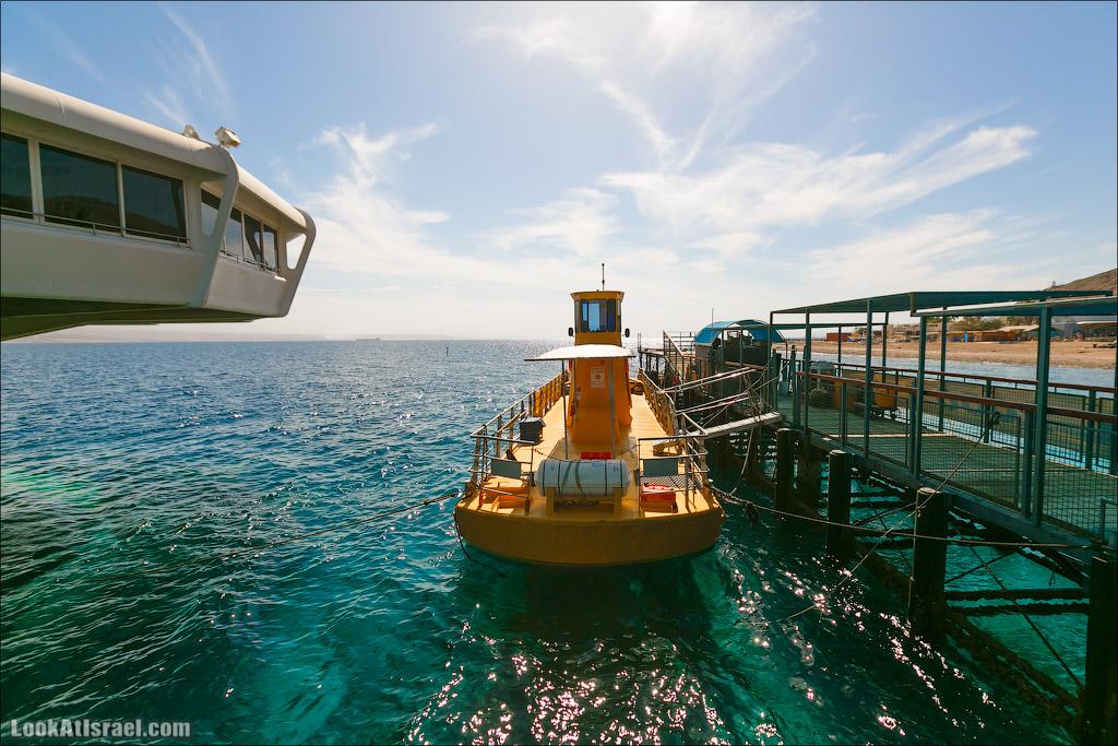 Эйлат - подводная обсерватория Океанаирум   LookAtIsrael.com - Фото путешествия по Израилю