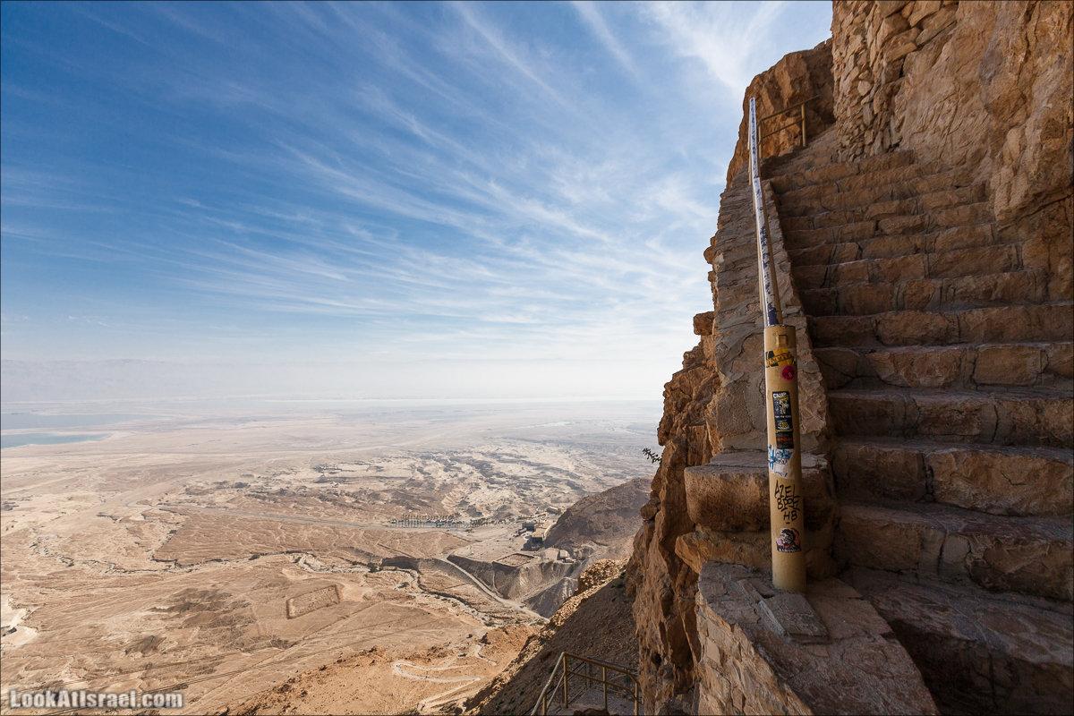 Крепость Масада |Masada | מצדה | LookAtIsrael.com - Фото путешествия по Израилю