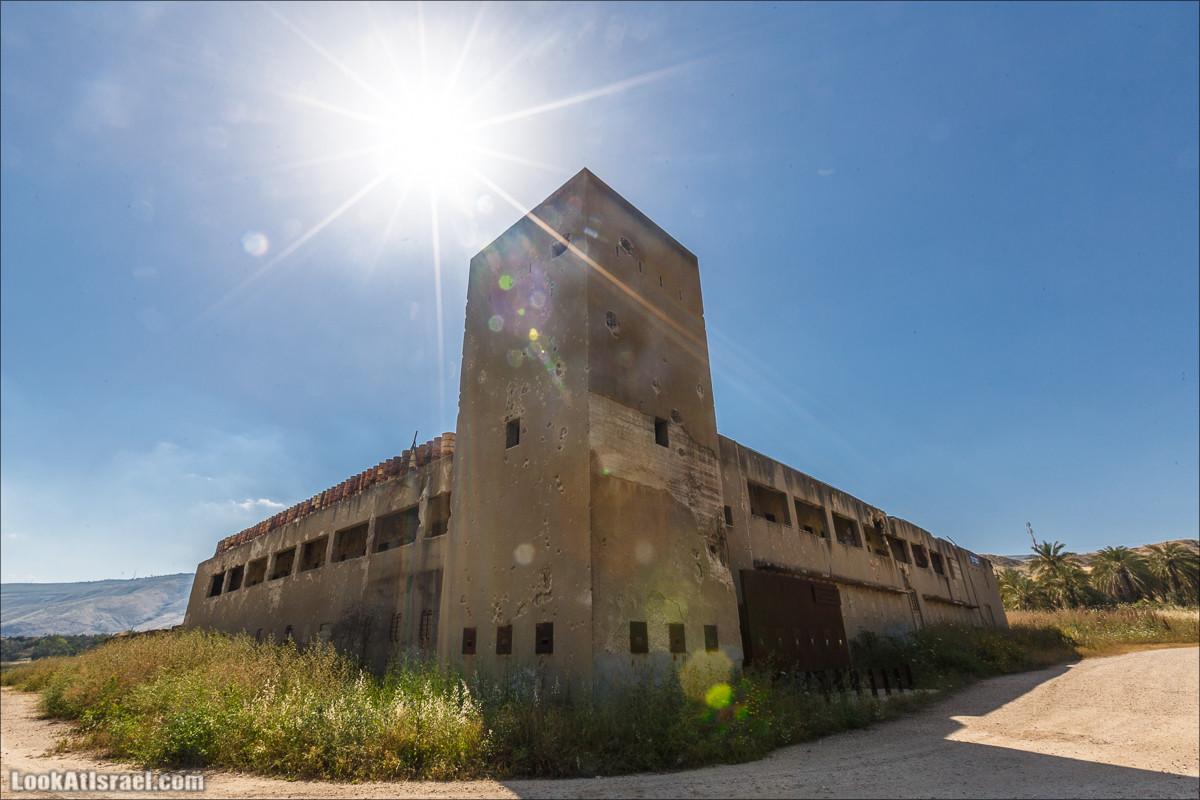 Здание британской полиции Гешер | Gesher police | משטרת גשר הישנה | LookAtIsrael.com - Фото путешествия по Израилю