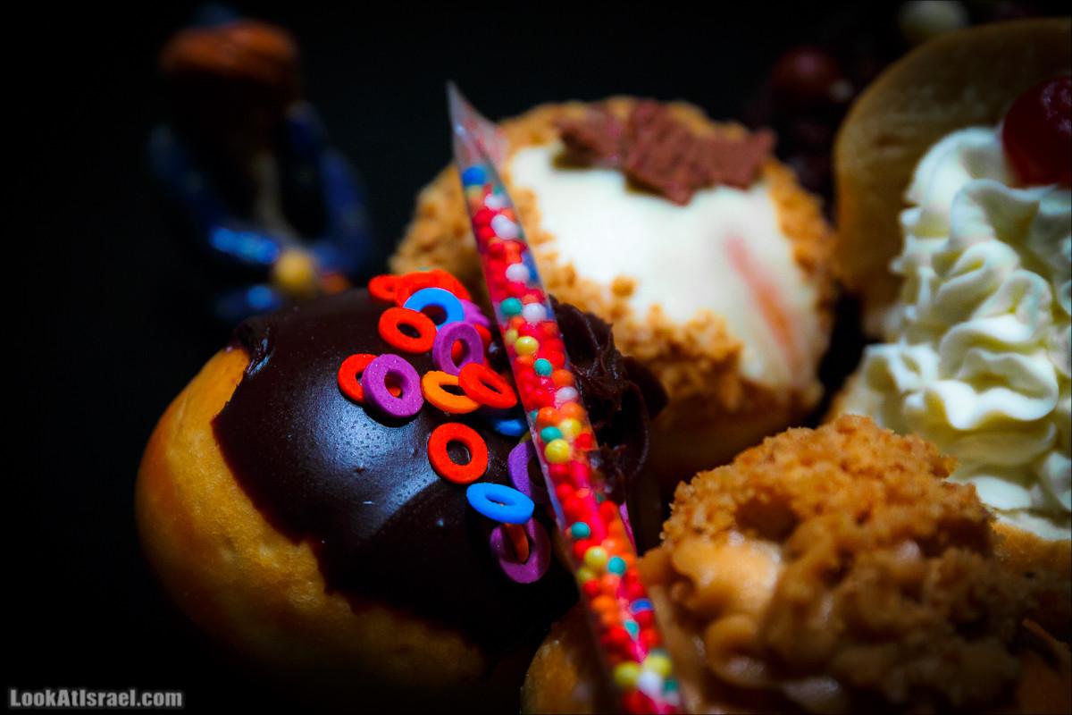 Ханукальные пончики   LookAtIsrael.com - Фото путешествия по Израилю