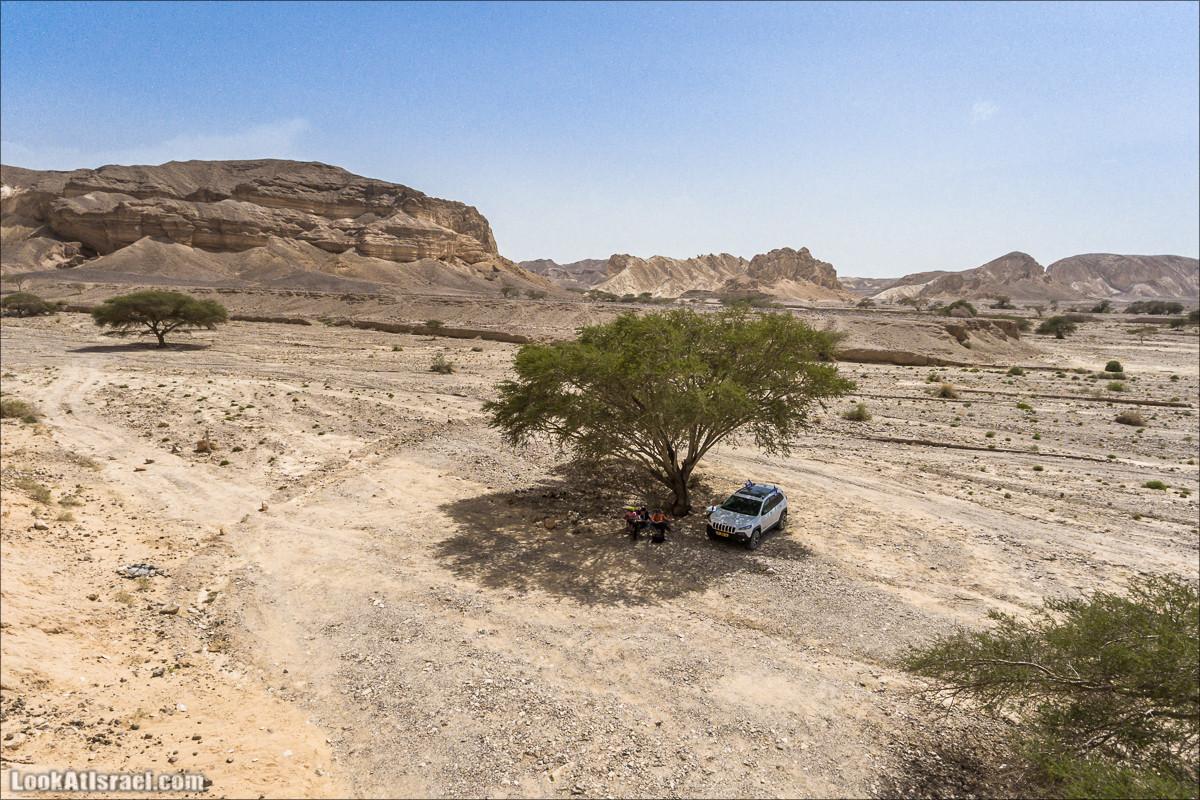 Каньон Ада и ручей Паран - Вид сверху | LookAtIsrael.com - Фото путешествия по Израилю