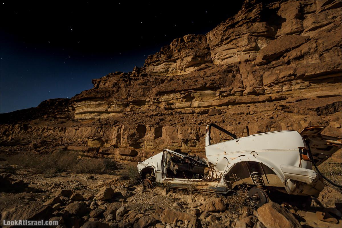 Ночной поход по нахаль Некарот и нахаль Елек | LookAtIsrael.com - Фото путешествия по Израилю