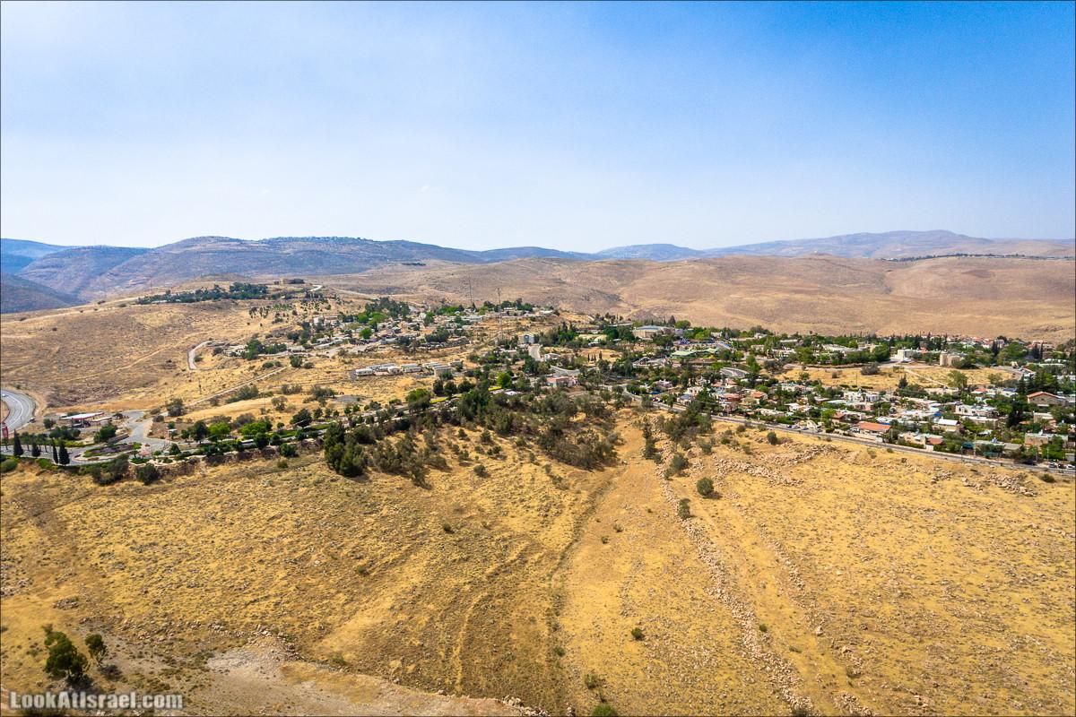 Вид сверху на Маале Эфраим | LookAtIsrael.com - Фото путешествия по Израилю