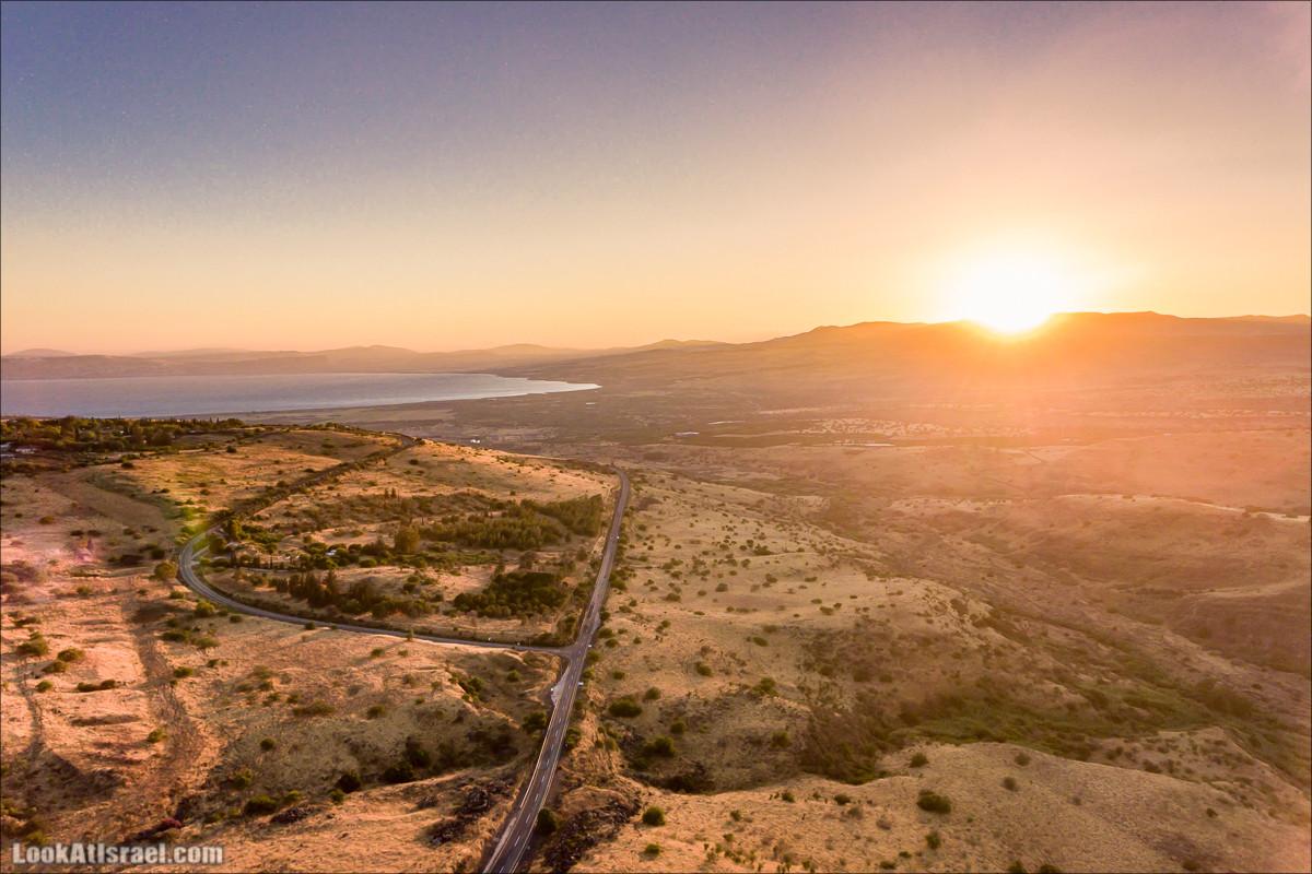 Маале Гамла и полет над Голнаскими высотами | LookAtIsrael.com - Фото путешествия по Израилю