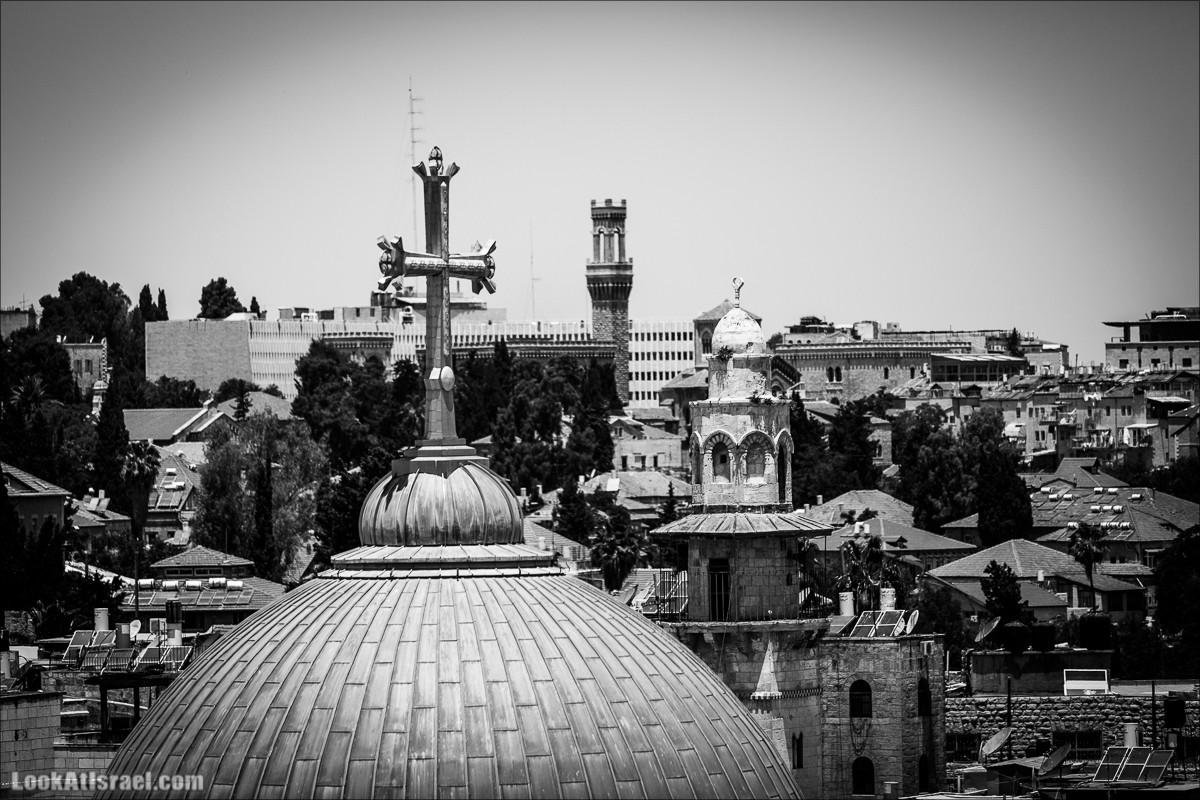 Над башнями Иерусалима витает Вера