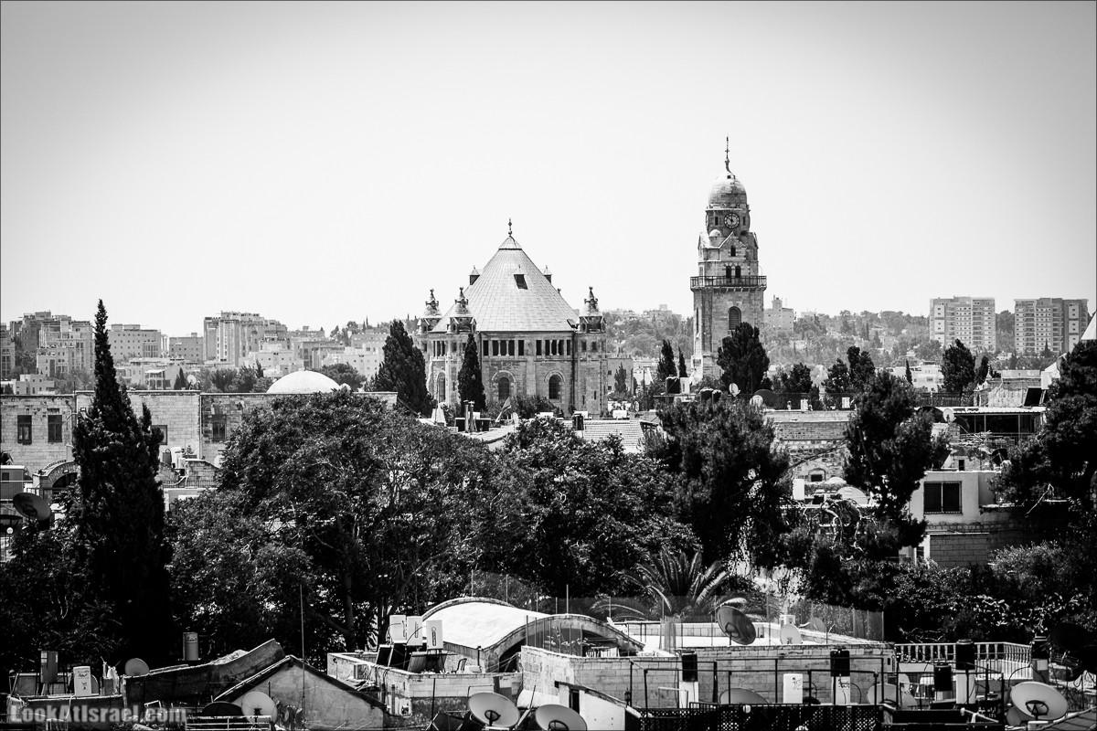 Черно белый Иерусалим | LookAtIsrael.com - Фото путешествия по Израилю