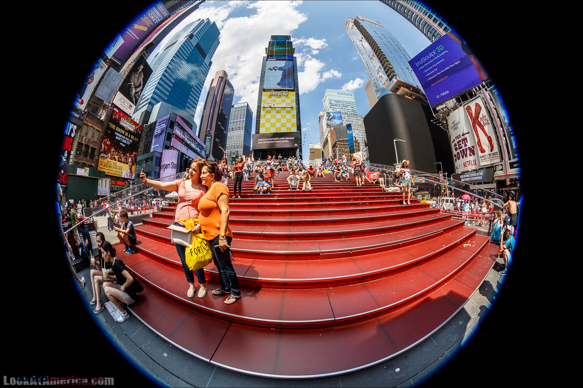Прогулка по Манхеттену | LookAtAmerica.com - Большое Американское путешествие LookAtIsrael.com