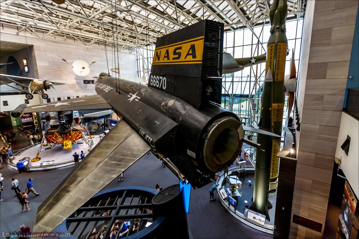 Музей авиации и космонавтики Смитсоновского института в Вашингтоне | LookAtAmerica.com - Большое Американское путешествие LookAtIsrael.com