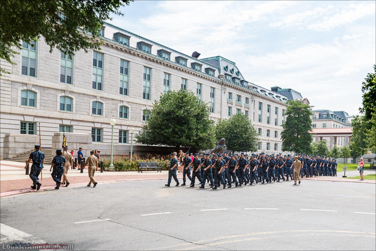 Военно-морская академия США, Аннаполис | LookAtAmerica.com - Большое Американское путешествие LookAtIsrael.com
