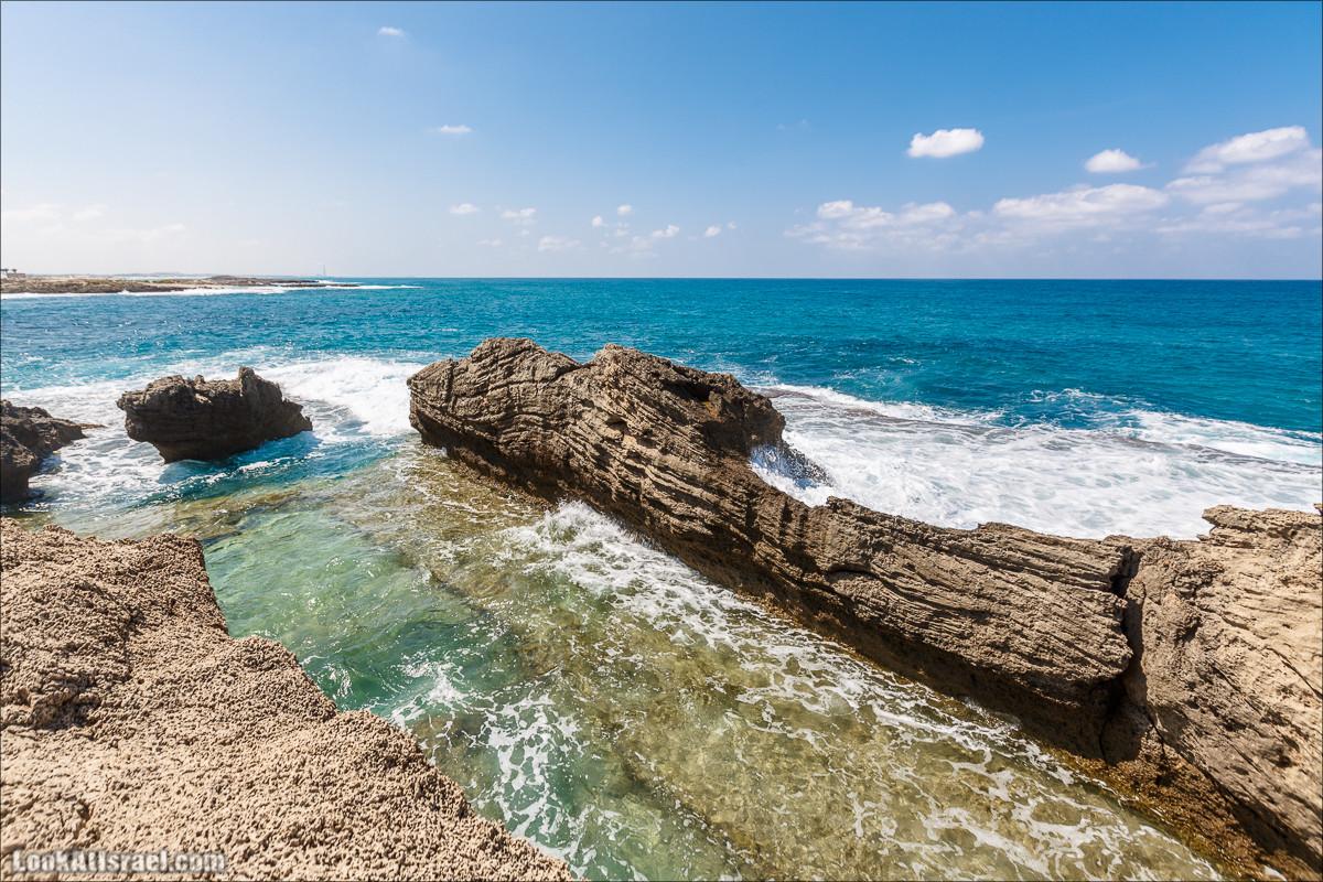 Побережье Дор а-Боним | Dor ha-Bonim Coast | חוף דור הבונים | LookAtIsrael.com - Фото путешествия по Израилю
