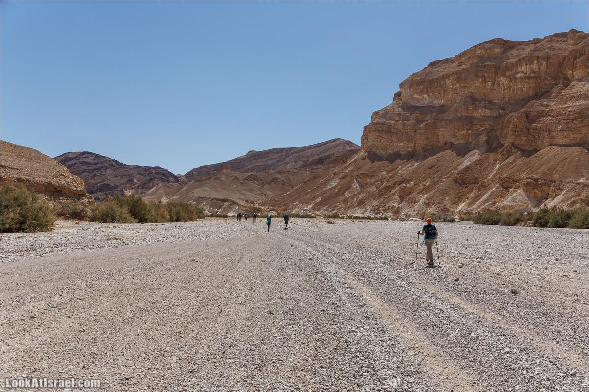 Цукей Фаран и каменный ручей Овиль | LookAtIsrael.com - Фото путешествия по Израилю