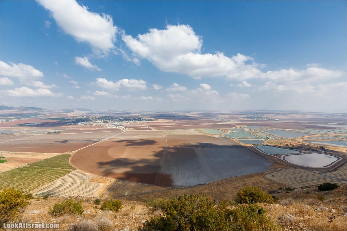 От Гильбоа к крепости Бельвуар по бездорожью   LookAtIsrael.com - Фото путешествия по Израилю