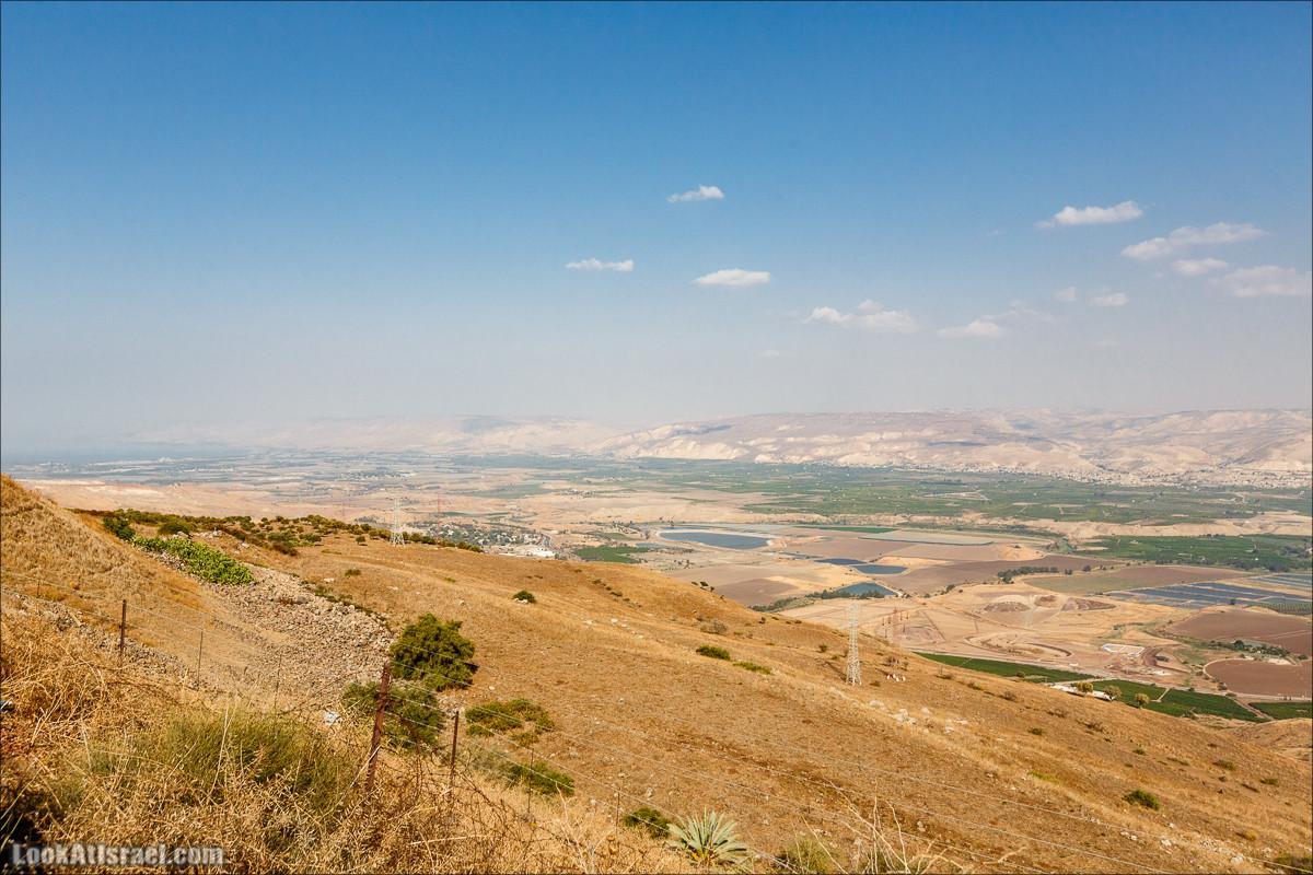 От Гильбоа к крепости Бельвуар по бездорожью | LookAtIsrael.com - Фото путешествия по Израилю