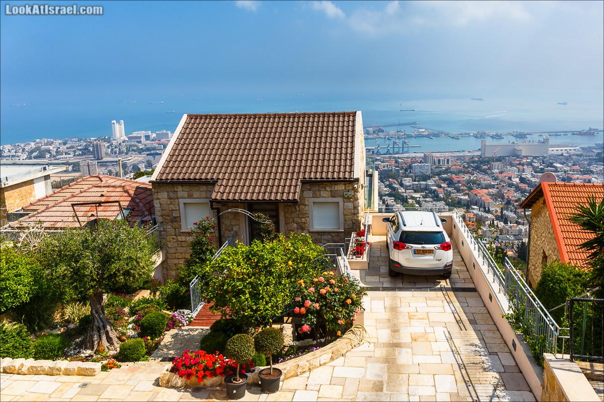 Дом в Хайфе с видом на море | LookAtIsrael.com - Фото путешествия по Израилю