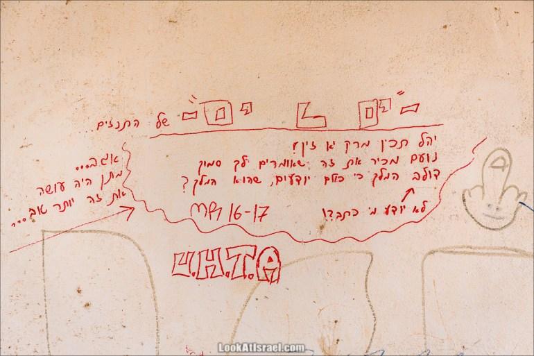 Автографы от Моря до Моря | LookAtIsrael.com - Фото путешествия по Израилю