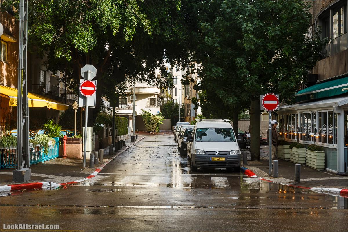 Штормовой и дождливый Тель-Авив | LookAtIsrael.com - Фото путешествия по Израилю