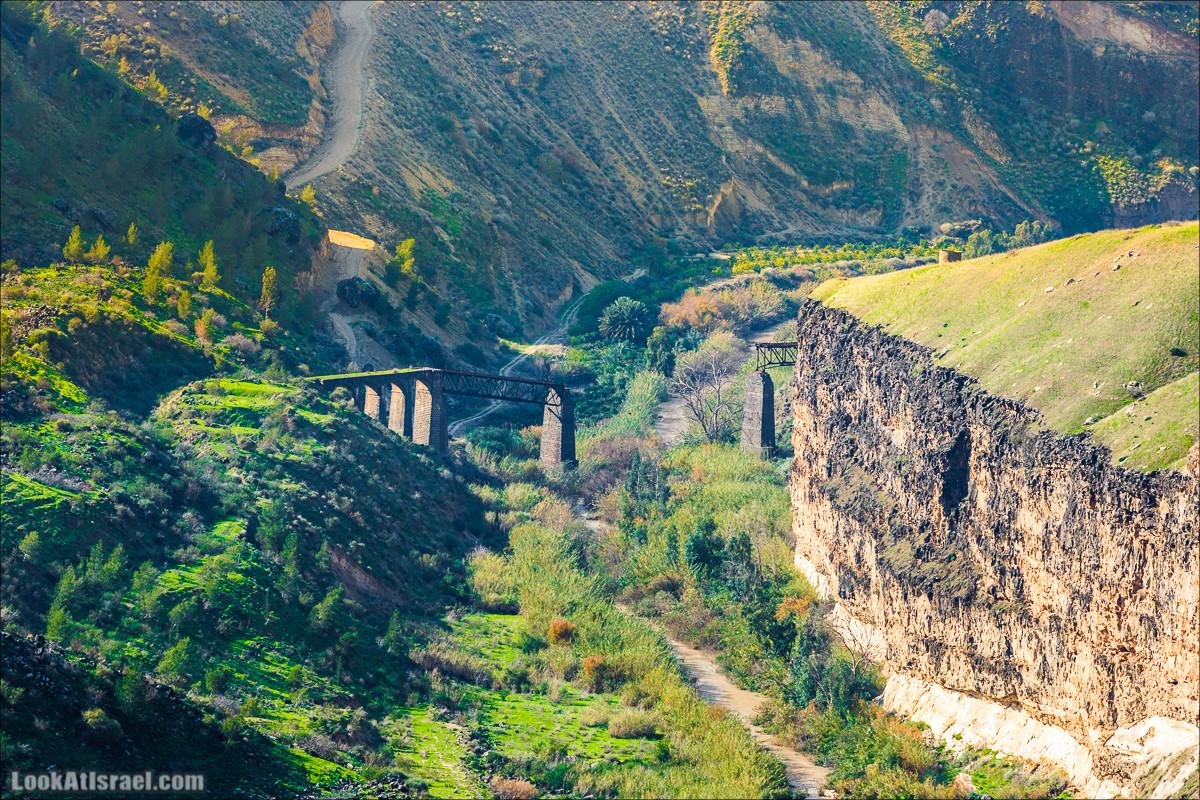 Мост Эль-Хама, Голанские высоты - водопады и исторические места   LookAtIsrael.com - Фото путешествия по Израилю