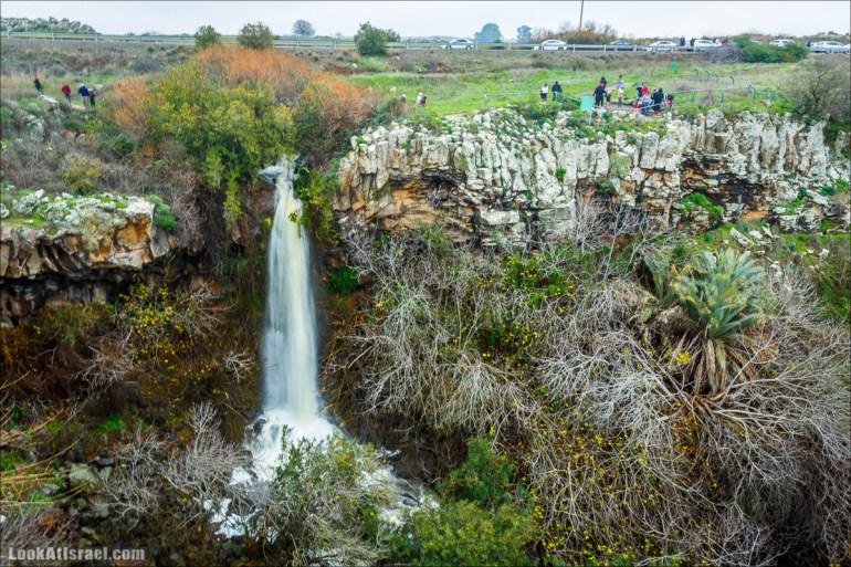 Водопад Аит, Голанские высоты - водопады и исторические места | LookAtIsrael.com - Фото путешествия по Израилю