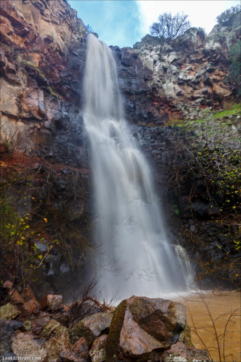 Водопад Орвим, Голанские высоты - водопады и исторические места   LookAtIsrael.com - Фото путешествия по Израилю
