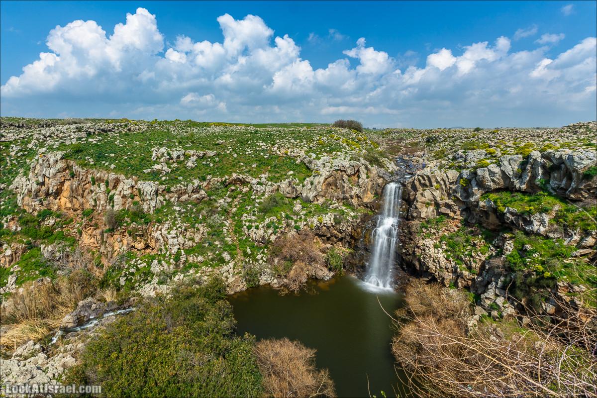 Великолепная семёрка водопадов Голанских высот