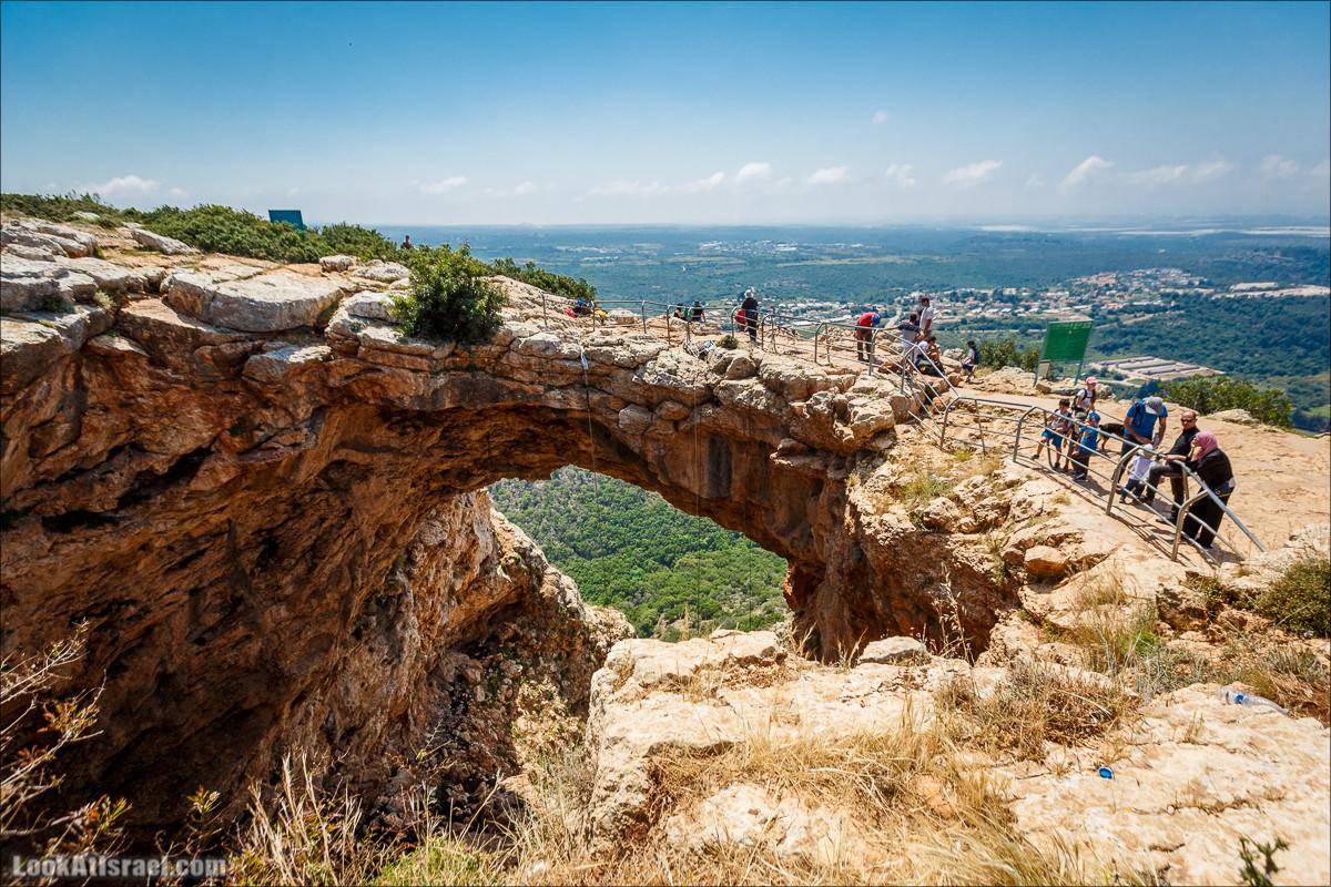 Из леса Ханита через пещеру Кешет и ручей Намер к ручьям Бецет и Серах | LookAtIsrael.com - Фото путешествия по Израилю