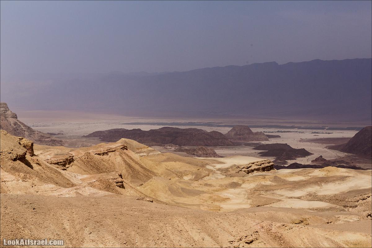 Долина Тимна с другой стороны   LookAtIsrael.com - Фото путешествия по Израилю