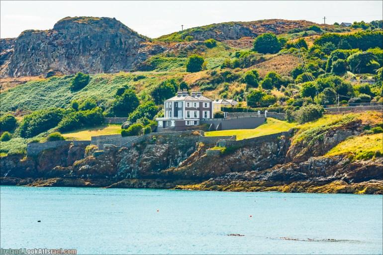 Полуостров Хоут (Howth) и остров Глаз Ирландии (Ирландский глаз) Ireland's Eye, Замок Хоут (Howth Castle) - LookAtIsrael.com путешествует по Ирландии