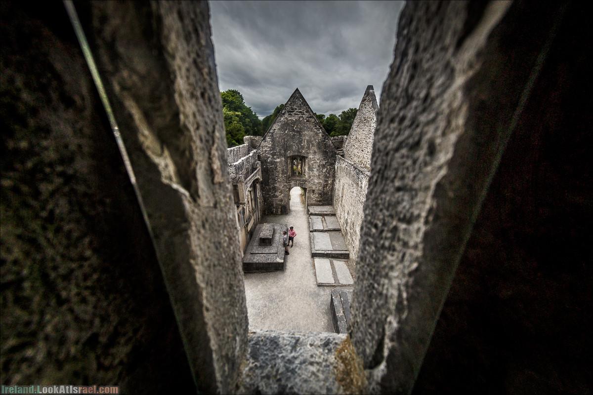 Кольцо Керри, Парк Килларни, озеро Лох-Лейн, аббатство Макрос   The Ring of Kerry, Kellareny Park, Muckross Abbey, Lough Leane   LookAtIsrael.com путешествует по Ирландии