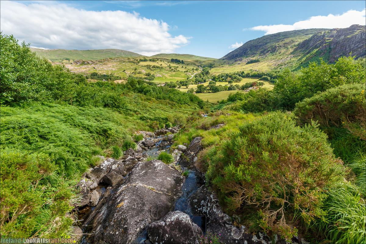 Кольцо Беара, каменное колцо Юраа и вододад парка Гленинчакин   The Ring of Beara, Uragh Stone Circle, Gleninchaquin Park & Waterfall   LookAtIsrael.com путешествует по Ирландии