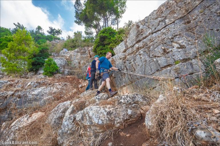 Виа Феррата на склонах гор Нафтали, Манара, Израиль | Via Ferrata in Israel | ויה פרטה ברמות נפתלי, מנרה, ישראל | LookAtIsrael.com - Фото путешествия по Израилю