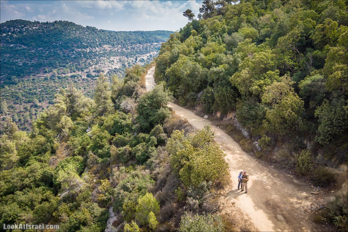 Нахаль Вади Катлав, Дир а-Шейх, Бар Гиора и Хирбет Тура | LookAtIsrael.com - Фото путешествия по Израилю
