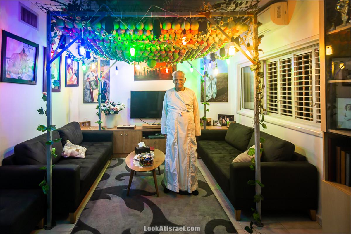 Суккот у самаритян в городе Холон | Samaritans sukkot in Holon | סוכות שומרוני בחולון |LookAtIsrael.com - Фото путешествия по Израилю
