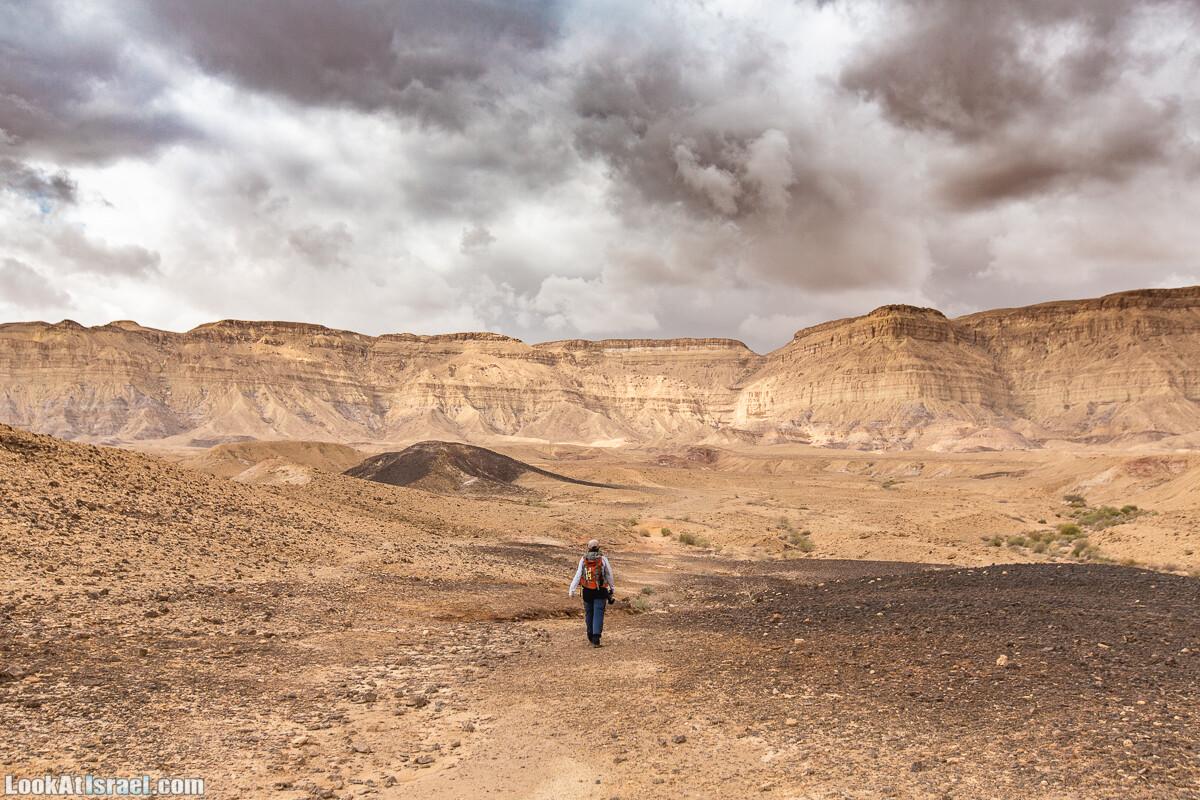 Тропа Израиля, участок 30-2: Маленькое путешествие по Малому махтешу